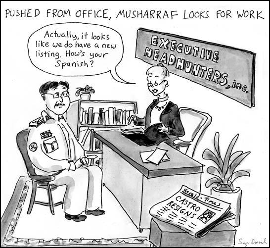 musharraf cartoon