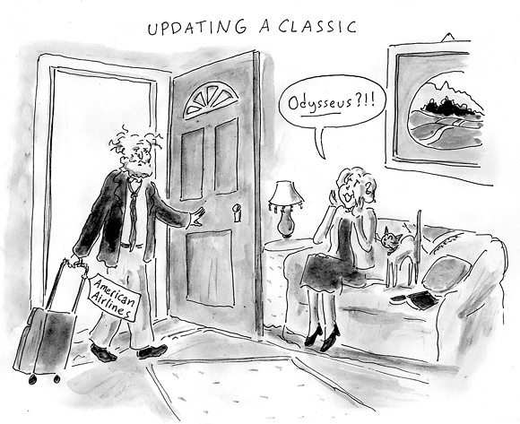 american airlines cartoon
