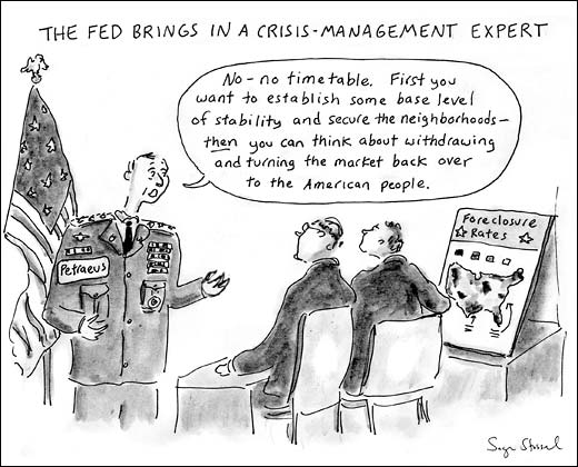 feds bailing out financial crisis cartoon