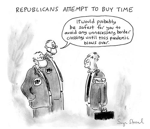 cartoon about arlen specter becoming a democrat