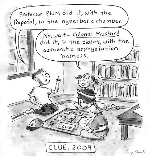 cartoon about michael jackson propofol and david carradine
