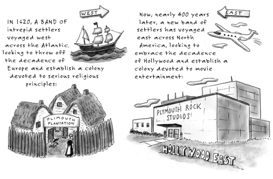 plimouth plantation and plymouth studios cartoon
