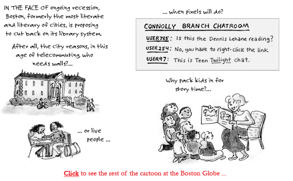 boston library cutbacks cartoon