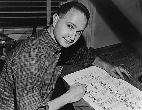 jules feiffer cartoonist village voice interview
