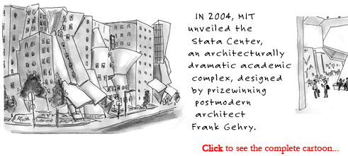stata center mit leaks mold cartoon