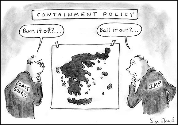 oil slick, burn, louisiana explosion, 11, greece bailout, imf, eurozone, default