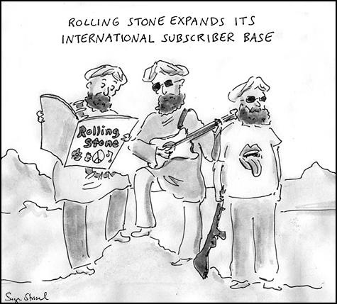 general stanley mcchrystal rolling stone profile cartoon