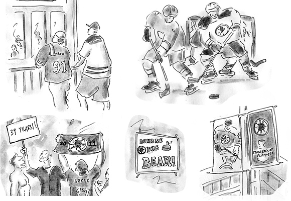 Bruins 2011 Stanley cup champions sketches