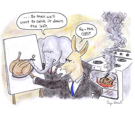 debt supercommittee, thanksgiving deadline, deadlock, revenues, tax cuts, pentagon, failure, cartoon