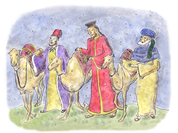 star of wonder children's book, mary lee wile, christmas pageant, story, shepherd boy, kings