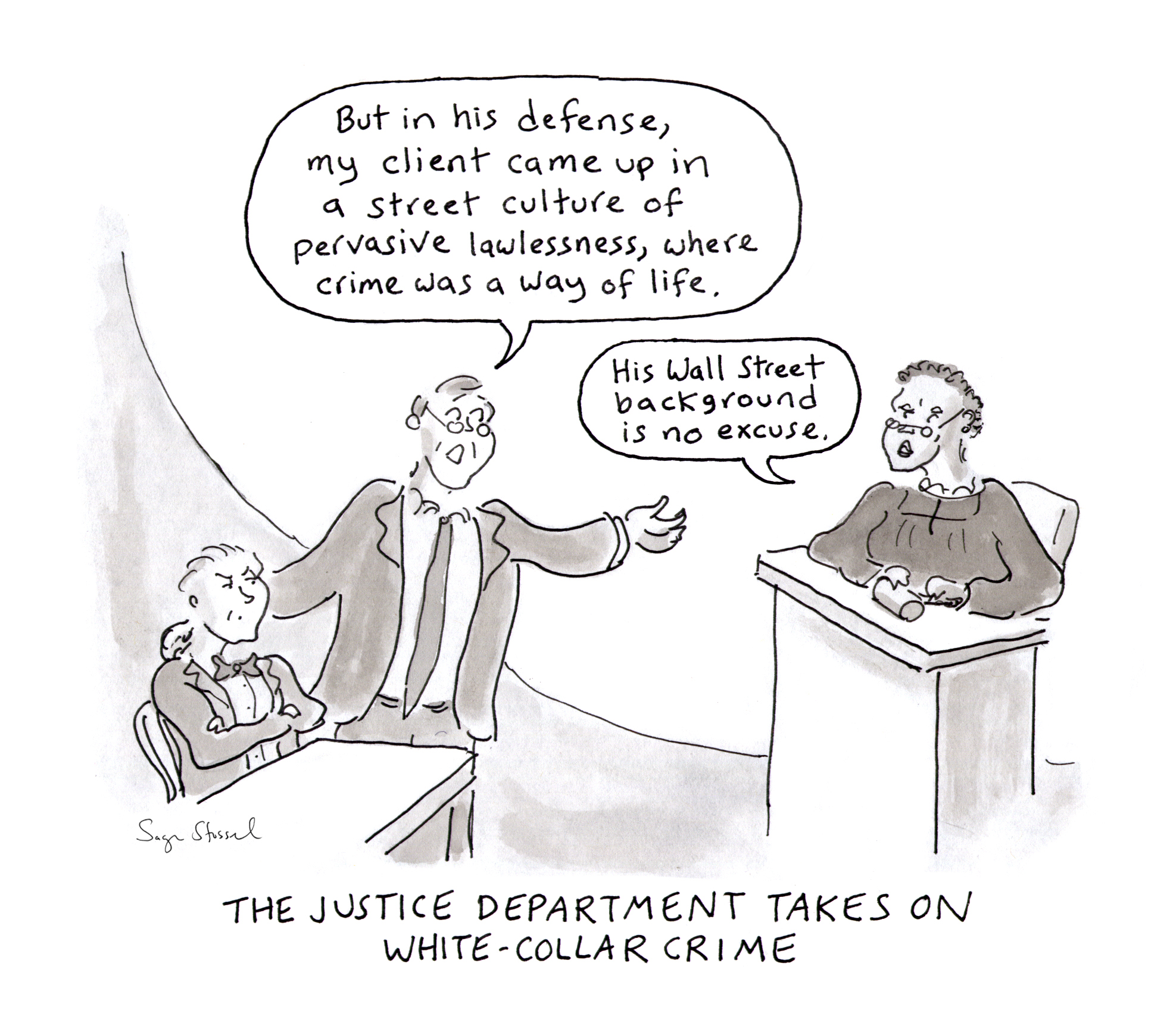 justice department, white collar crime, prosecution, wall street, Attorney General Loretta Lynch, sally yates, corporate misconduct, settlements, financial crisis, cartoon