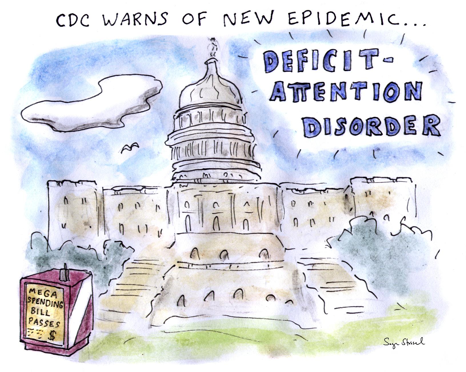 spending bill, deficit, rand paul, debt, congress, cartoon