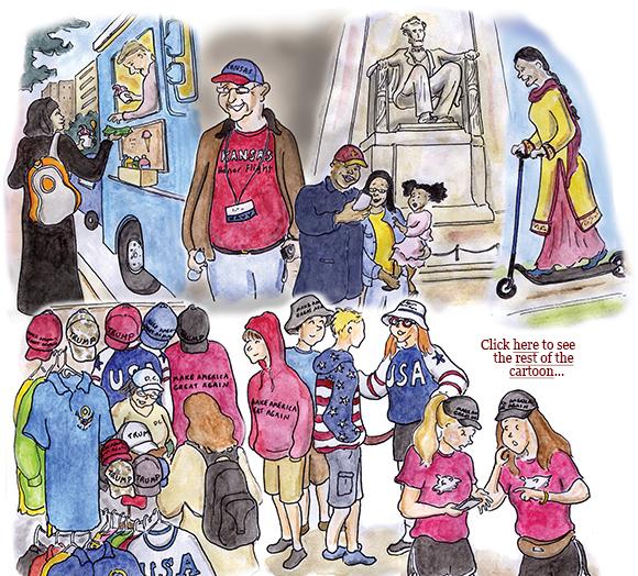 weather, mueller report, william barr, trump, corruption, avengers, theranos, rain, cartoon, sage stossel