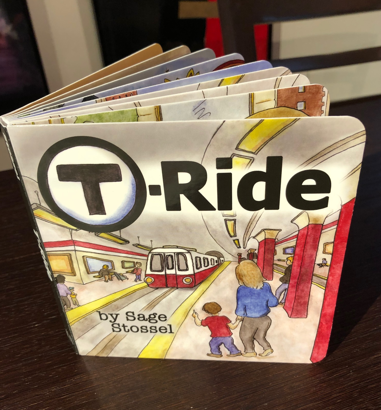 Boston mbta children's book